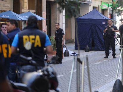 Polícia Federal em Buenos Aires.