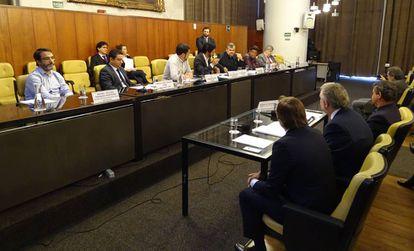 Reunião do dia 16 de maio da CPI da Sonegação Tributária.
