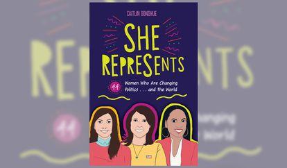 O livro 'She represents'.