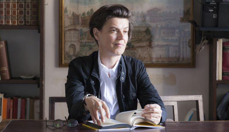 Carolin Emcke em Torino, Itália, em setembro de 2017.