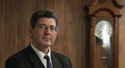 O ministro Levy em São Paulo.