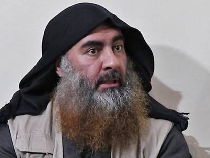 Abu Bakr al-Baghdadi, em abril de 2019.