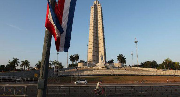 Praça da Revolução em Havana.