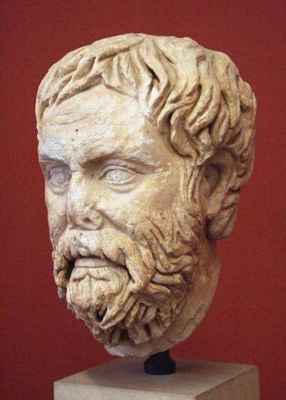 Pirro de Élis, um homem que acreditava que o conhecimento é uma questão de perspectiva.