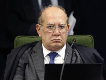 O ministro do STF Gilmar Mendes, em 13 de junho.
