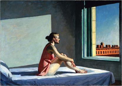 """Sol da manhã"", de Edward Hopper."