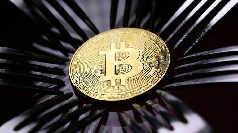 Representação visual do Bitcoin