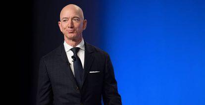 Jeff Bezos, founder of Amazon and Blue Origin.