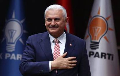 Binali Yildirim, em maio passado.