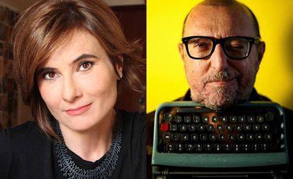Eliane Brum e Xico Sá, finalistas do Prêmio Comunique-se 2019.