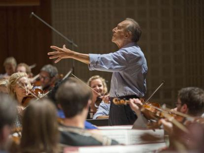 Claudio Abbado no Festival de Lucerna.