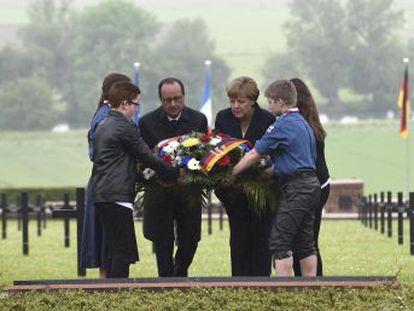 Líderes lembram o centenário da terrível batalha da Primeira Guerra Mundial em um momento tenso do eixo franco-alemão