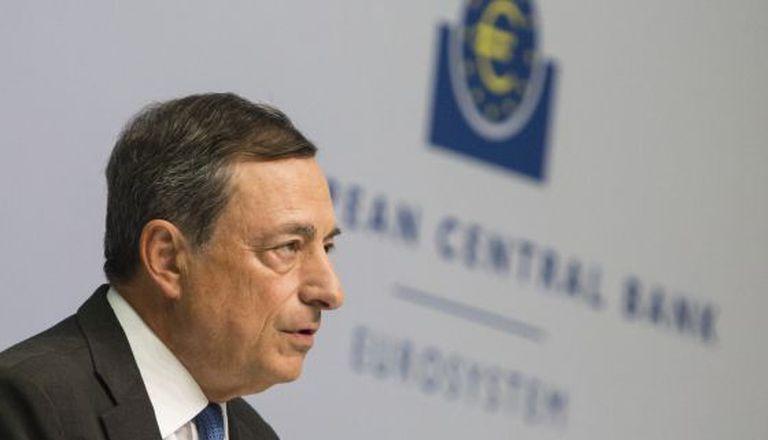 O presidente do BCE, Mario Draghi, nesta quinta-feira em Frankfurt (Alemanha).