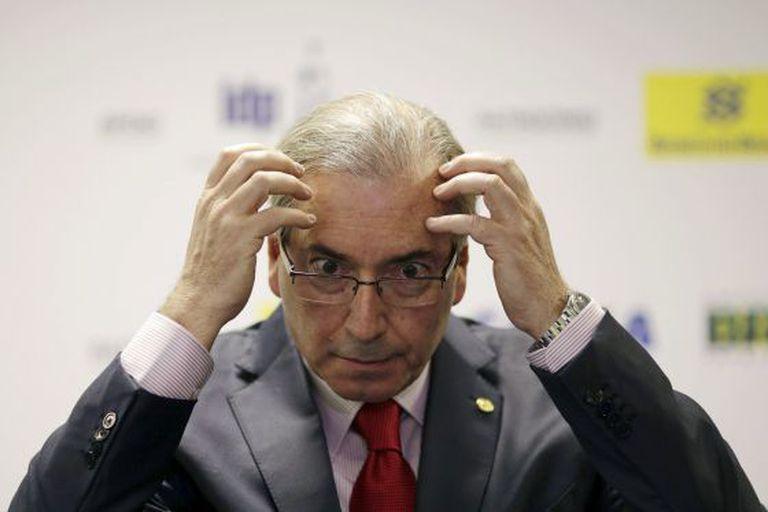 Cunha durante um seminário em Brasília nesta terça-feira.