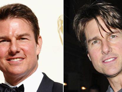 Tom Cruise em 2016 e em setembro de 2015.