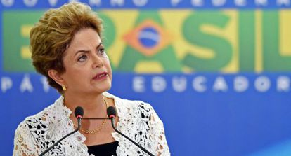 Dilma Rousseff, em Brasília.