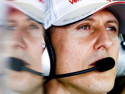 Michael Schumacher, em uma imagem de 2012.