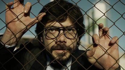 Álvaro Morte, O Professor em 'La casa de papel'
