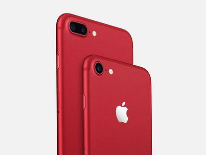O novo iPhone 7 vermelho