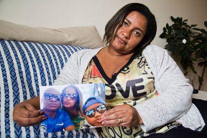 Luciana dos Santos Nogueira foi companheira de Evaldo Santos – fuzilado pelo Exército do Rio – por 27 anos
