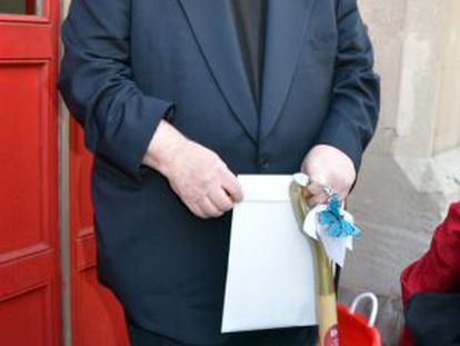 O cineasta Michael Moore.