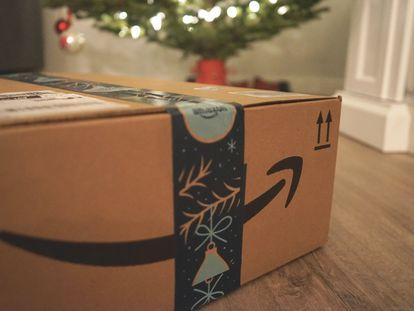 Pacote da Amazon.