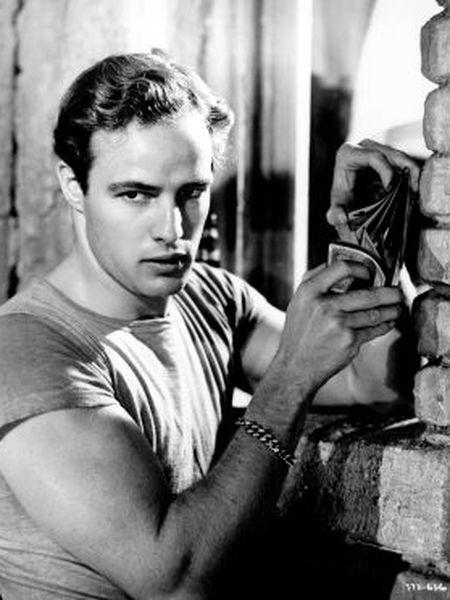 Marlon Brando, no filme de Elia Kazan 'Um bonde chamado desejo'.