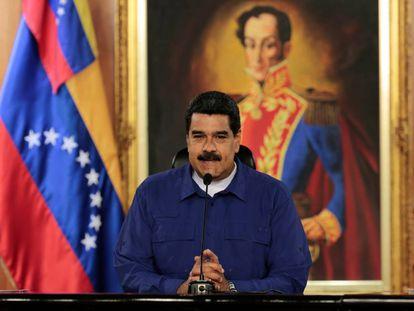 Nicolás Maduro, em Caracas.