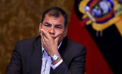 O presidente de Equador, Rafael Correa, em foto de arquivo.