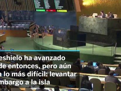 Estados Unidos e Cuba, um degelo incompleto