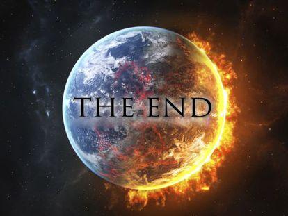 A colisão de um asteroide liberaria a energia de 100.000 bombas atômicas.