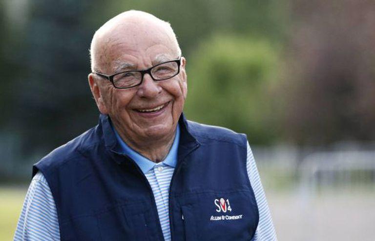 Rupert Murdoch, na reunião de Sun Valley, realizada na semana passada.