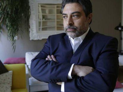 O advogado Rodrigo Tacla Durán, em julho de 2017, em Madri.