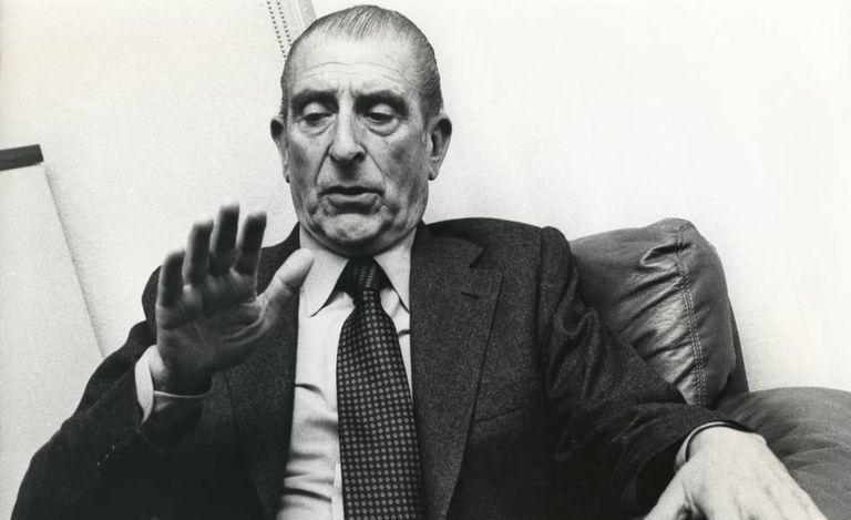 O ex-presidente chileno Eduardo Frei Montalva, fotografado em novembro de 1979.
