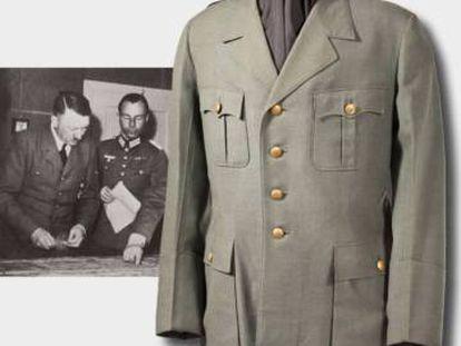 Casaco militar de Hitler é vendido por 1 milhão de reais