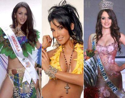 Susana Flores (Miss Sinaola 2012, México) morreu em um tiroteio entre soldados e assassinos profissionais. Liliana Lozano (Miss Carnaval Colômbia, 1995) morreu torturada. Karen Blanco (Miss Turismo Venezuela, 2007) morreu assassinada com seu namorado.