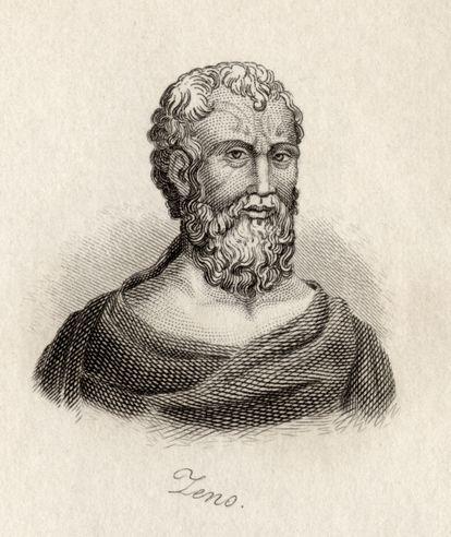 Zenão de Cítio, natural de Chipre e ídolo dos estoicos.