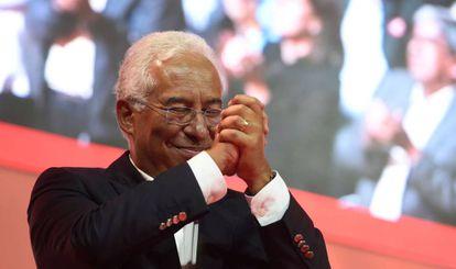 O candidato socialista António Costa.