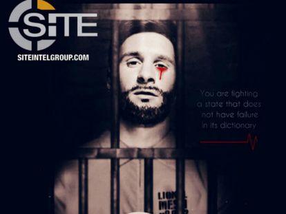Estado Islâmico ameaça Copa da Rússia com imagem de Messi ensanguentado