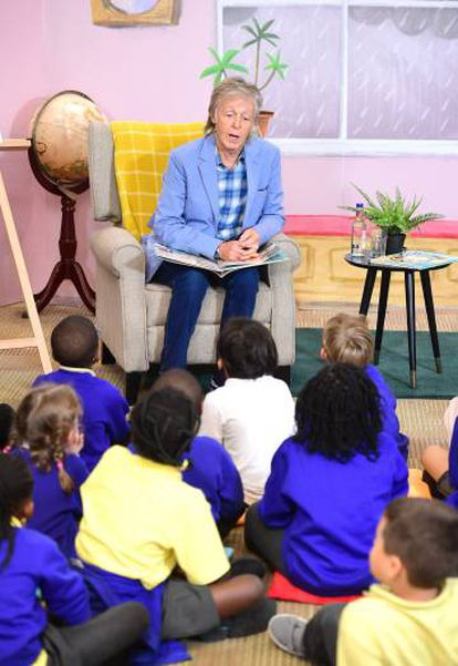 Paul McCartney, na apresentação de seu livro infantil, em Londres, em setembro.