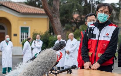 Sun Shuopeng, vice-presidente de Cruz Vermelha na China.