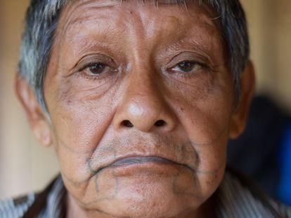 Aruká Juma, o último homem de seu povo, morto pelo coronavírus na quarta-feira em Porto Velho.