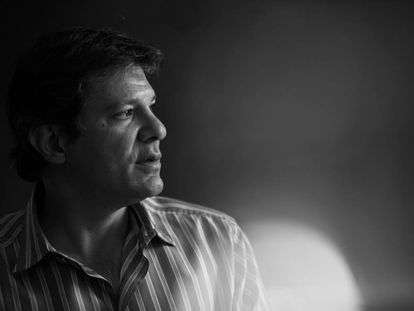 Fernando Haddad, então prefeito de São Paulo, em 2015.