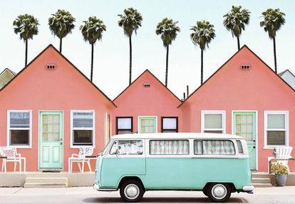 Imagem 'wesandersiana' tomada no hotel californiano Roberts Cottages Oceanside.