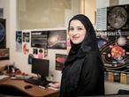 Sarah Al Amiri, subdirectora del proyecto y ministra de Ciencias Avanzadas de los Emiratos Árabes Unidos.