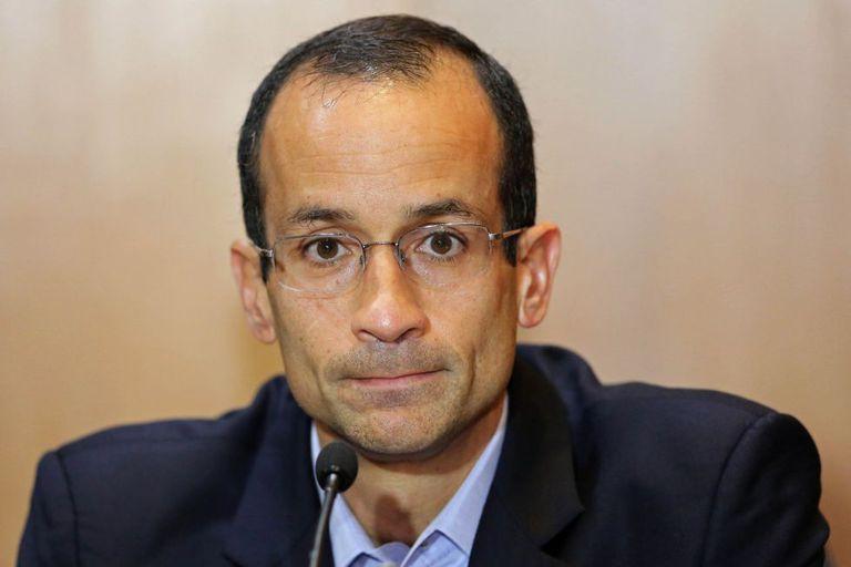 Marcelo Odebrecht, em imagem de setembro de 2015, época em que foi preso na Lava Jato.