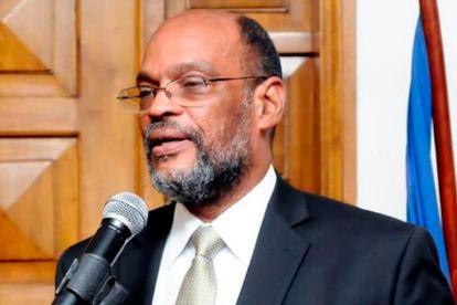 Ariel Henry, que assumirá o cargo de primeiro-ministro do Haiti, em uma foto de suas redes sociais.