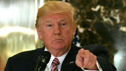 O presidente dos EUA na segunda-feira em Nova York.