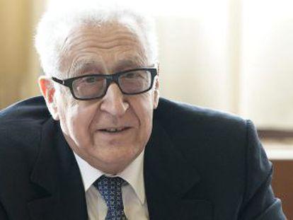 Lajdar Brahimi é o mediador internacional para o conflito sírio.