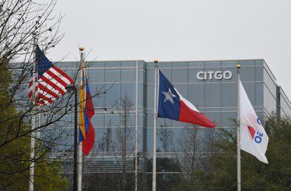 A sede da Citgo Petroleum Corporation em Houston, Texas, em 19 de fevereiro de 2019.